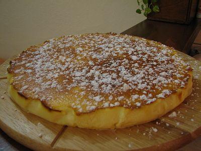Ricette Dolci gustosi: Clafoutis veloce alla panna fresca