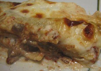Ricette sfiziose: Lasagne ai funghi misti trifolati con pecorino e grana