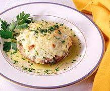 Ricette secondi & contorni: Porcini farciti con riso e formaggio