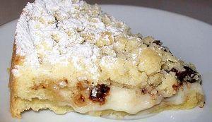 Ricette Dolci: Torta con crema, mascarpone, cioccolato, crumble
